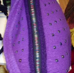 I love this zipper! (sallyvillarreal) Tags: felted knitting zipper yarnshop theknittingnest