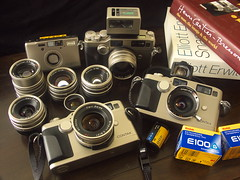 Contax G2s and G Lens (Lordcolus) Tags: contax g2 contaxg2