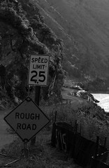 Rough Road (James T McArdle) Tags: road speed river idaho dirt winding rough constuction limit slamon