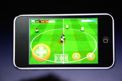 iPod juego de Fútbol