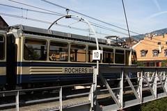 cog railway Montreux