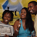 2008 DCTV Kids Awards - Martha's Table award recipients Samantha Johnson & Ronald Allen