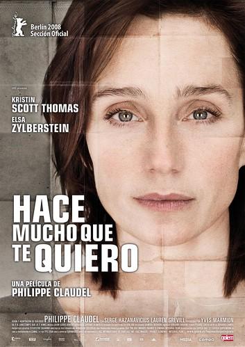 Poster Hace mucho que te quiero Kristin Scott Thomas