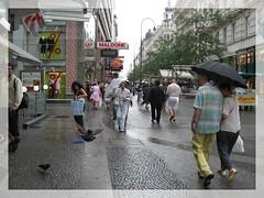 Vienna Stephens sq (SaudiSoul) Tags: vienna bird rain shopping austria stephens      maldone