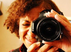 My sister got a Canon Eos 450D (Kwadwo Kwarte) Tags: camera portrait brown black slr face digital canon lens eos rebel is nikon malcolm sister african picture kwadwo naomi mm