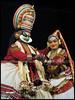 Bhiman & Hidumbi (H·A·R·E·E) Tags: art pacha keralam kathakali canonpowershots3is minukku kalamandalamshanmukhadas kalamandalamvijayakumar bhiman hidumbi bakavadham sandarsan