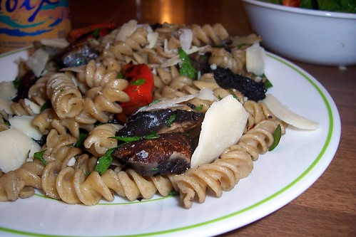 Herbed Rotini with Grilled Vegetables