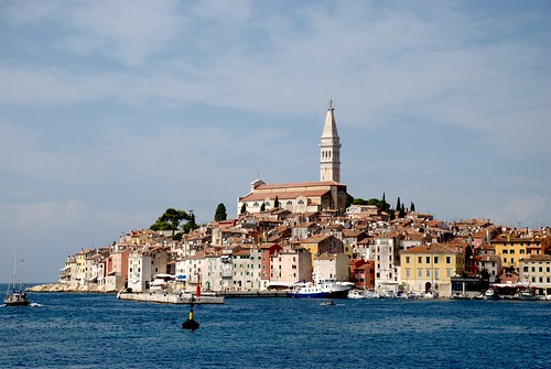 Sea view. Rovinj, Croatia
