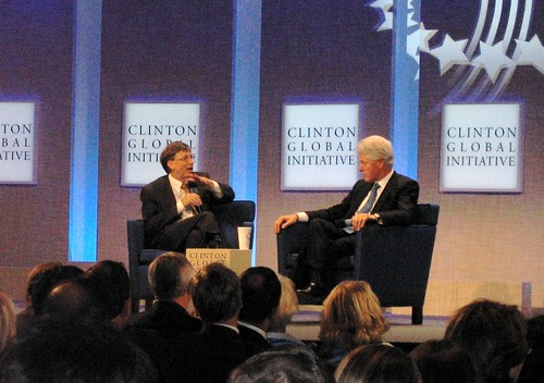 The two Bills: Clinton and Gates