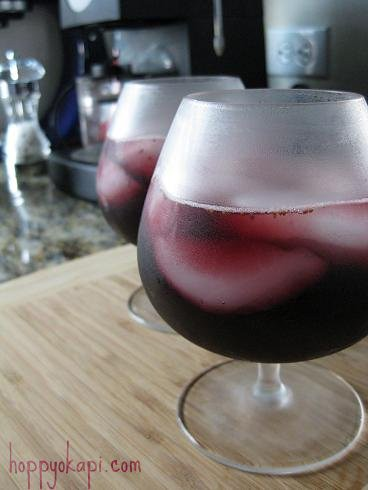 Cherry, Fig, and Cognac Sangria