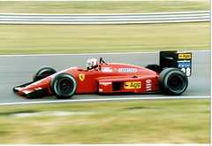 Gerhard Berger Ferrari F1/87 F1 1987 British GP Silverstone (Antsphoto) Tags: uk slr classic car speed 35mm britain 1987 f1 ferrari racing historic grandprix turbo silverstone formulaone british canonae1 1980s motorsports formula1 gp gerhard groundeffects motorsport racingcar turbocharged autosport berger kodakfilm carracing motoracing f1car formulaonecar ferrarif1 f187 gerhardberger formula1car tamron70210mm f1worldchampionship grandprixcar antsphoto canonae135mmslr fiaformulaoneworldchampionship f1motoracing formula11980s anthonyfosh formula1turbo