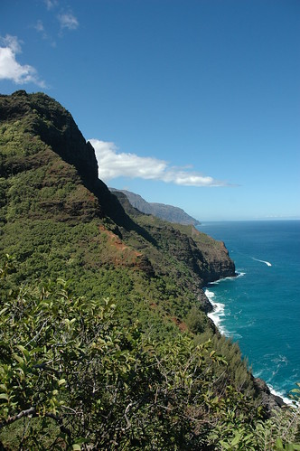 Kauai - Kalalau Trail View