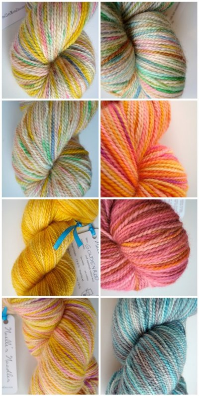 October yarn on Etsy
