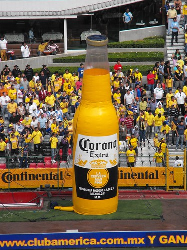 Cerveza inflable