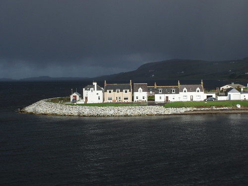 Arriving at Ullapool from Stornoway