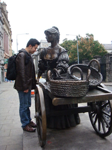 The Statue of Molly Malone