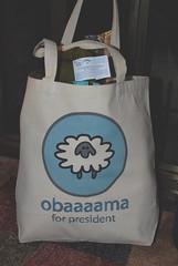 My Obaaaaaama bag :-)