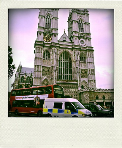 Westminster Abbey Poladroid