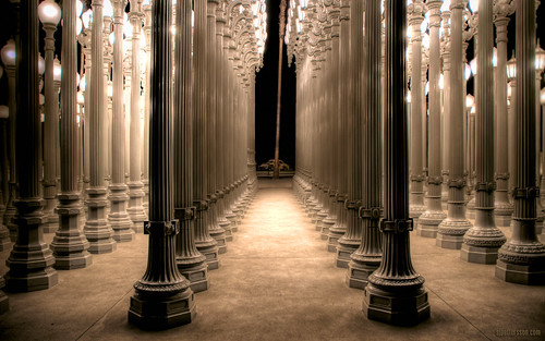 LACMA at Night (by s.j.pettersson)