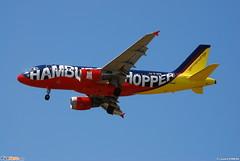 """Airbus A319-100 Germanwings (GWI) D-AKNI - MSN 1016 - Named """"Hamburg Shopper"""" - Now in Lufthansa (DLH) fleet (Luccio.errera) Tags: airbus msn fleet now lufthansa named dlh 1016 germanwings gwi a319100 dakni hamburgshopper"""