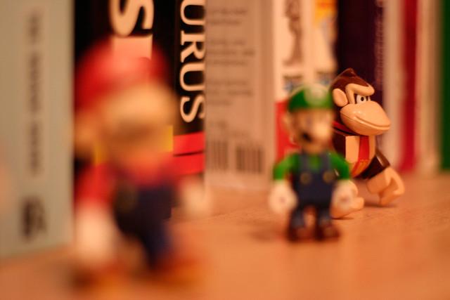 Nintendo bookshelf