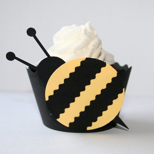 Bumble Bee Cupcake Cuppy