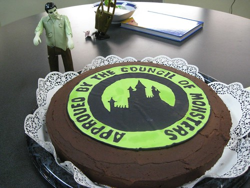 Council of Monsters Cake