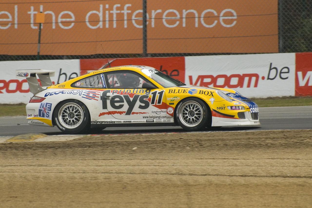 Belgian GT Porsche GT3 Cup S