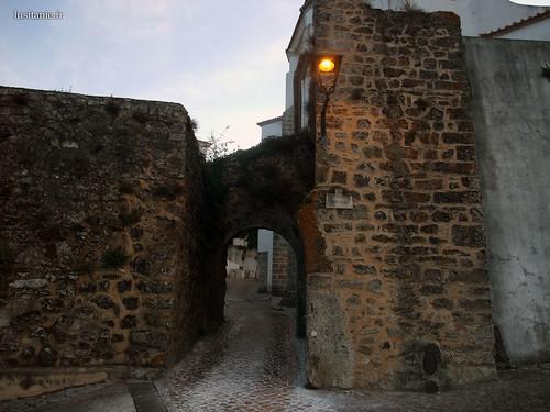Entrada da cidade velha medieval