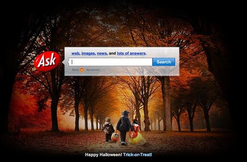 Ask.com Halloween