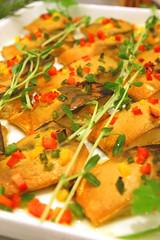 鯖のカレー風味焼き
