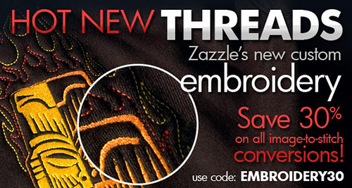 SAVE 30% on All Embroidery Image Digitizations!