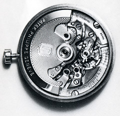 Watch Repair 09 (sarcoptiform) Tags: clock industry wheel train spring industrial mechanical time watch bob hour motor winding tick tock clockwork piece cogs cog mechanics horology timekeeping escapement mainspring movemnt bauches assortments