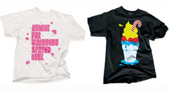 our disco disastro t shirts