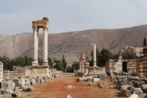 Anjar Tetrapylon
