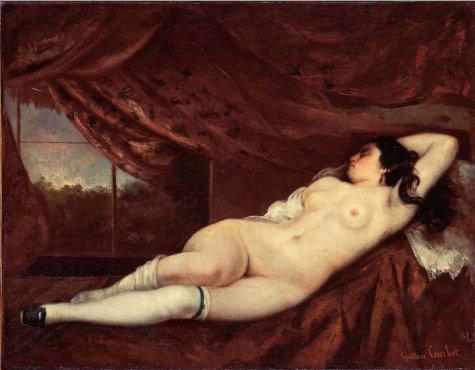 Gustave Courbet… historia de una joya del arte erótico universal