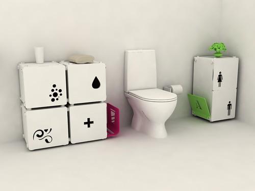 Modern Bathroom  modular system