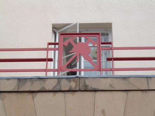Kirkcaldy Fire Station Fire Service symbol