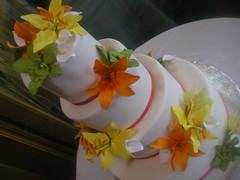 Matt & Kelly's Cake