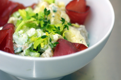 Potato Salad with Horseradish & Bresaola