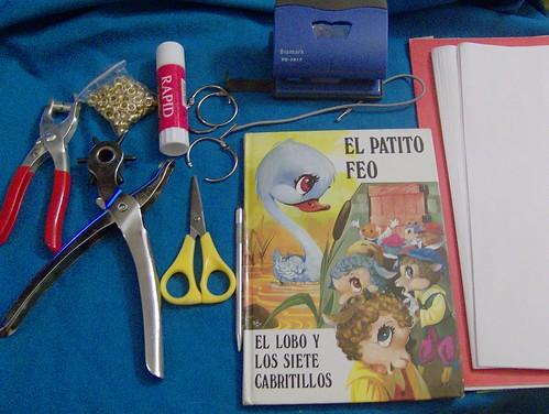 cuaderno materiales