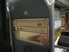 PowerMac G4 - DVD-ROM installed
