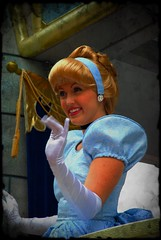The fantasy begins (unlimited inspirations) Tags: world blue friends portrait love girl beautiful smile face fashion fun happy golden costume dress princess disneyland character disney diamond memory week