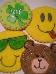 luck, happy face, teddy bear