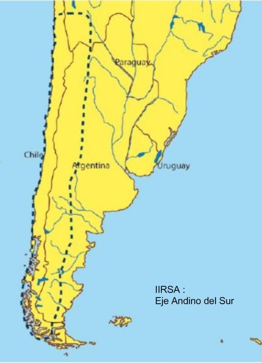 IIRSA - Eje Andino del Sur