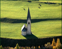 Church From Above (our cultural archive) Tags: alps fall austria österreich oneofakind kirche romanesque cate nationalgeographic osttirol smörgasbord kals gothictower copenhaver totalphoto anticando spiritofphotography oarsquare