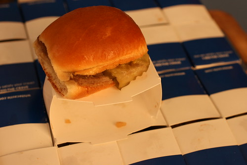 white castle burger 2