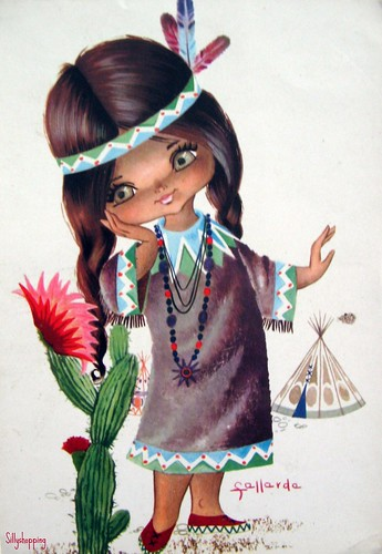 Little Indian Gallarda Girl