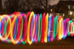 Jump Rope Lights (Nutrius) Tags: christmas xmas pink blue red color green yellow night hongkong lights long exposure soe blueribbonwinner amazingamateur  novavitanewlife
