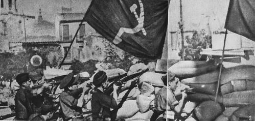 Asedio al Alcázar de Toledo. 1936